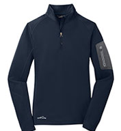 Custom Eddie Bauer® Ladies 1/2-Zip Performance Fleece