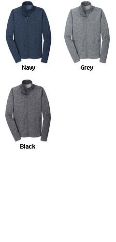 Mens Digi Stripe Fleece Jacket  - All Colors