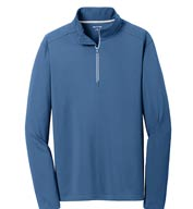 Custom Sport-Wick® Textured 1/4-Zip Pullover Mens