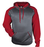 Custom Badger Mens Sport Heather Hoodie