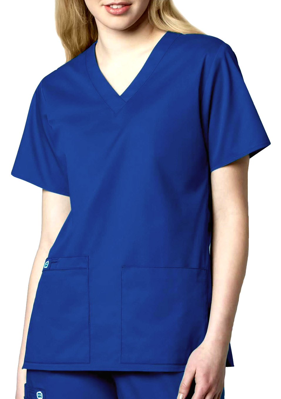WonderWink® WonderWORK Womens V-Neck Scrub Top