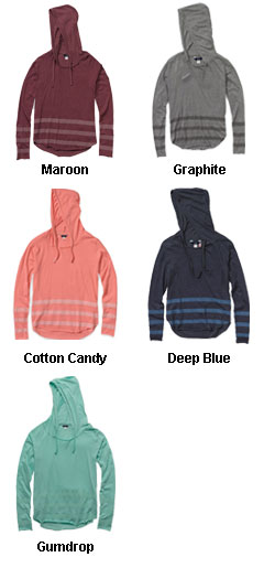 Eden Long Sleeve Hood Tee - All Colors