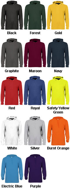 Long Sleeve Hooded Tee - All Colors