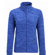 Custom Landway Ladies Cascade Marled Fleece Jacket