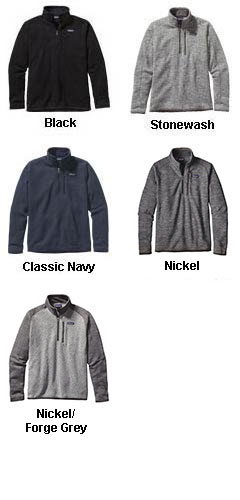 Mens Patagonia Better Sweater® 1/4 Zip Pullover - All Colors