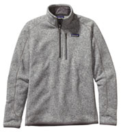 Custom Patagonia Mens Better Sweater® 1/4 Zip Pullover