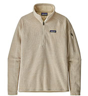 Custom Patagonia® Womens Better Sweater® 1/4 Zip Pullover