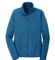 Custom Port Authority® Mens Sweater Fleece Jacket