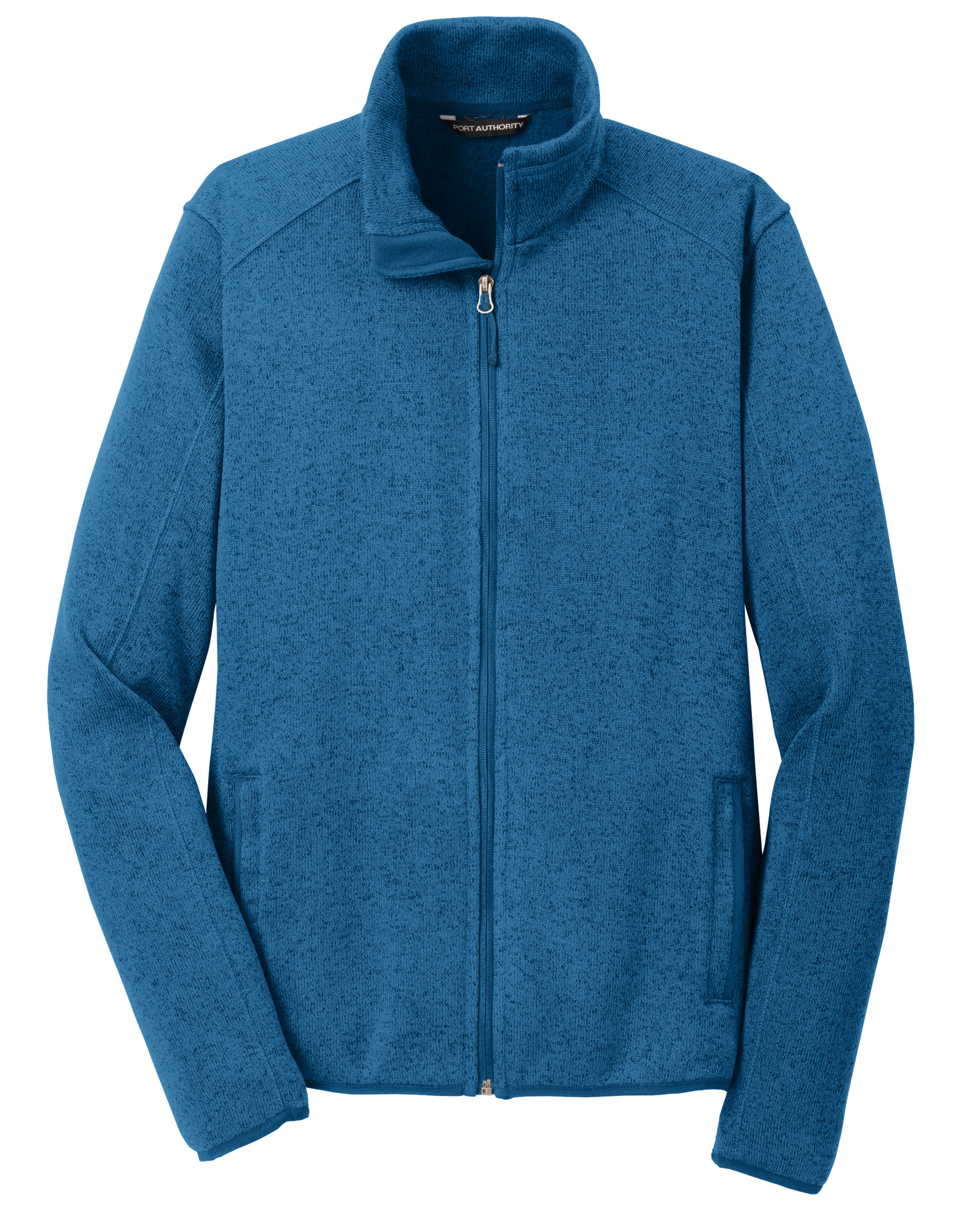 Port Authority® Mens Sweater Fleece Jacket