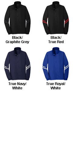 Shield Mens 1/2-Zip Pullover - All Colors