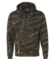 Custom J. America Mens Tailgate Poly Hooded Fleece