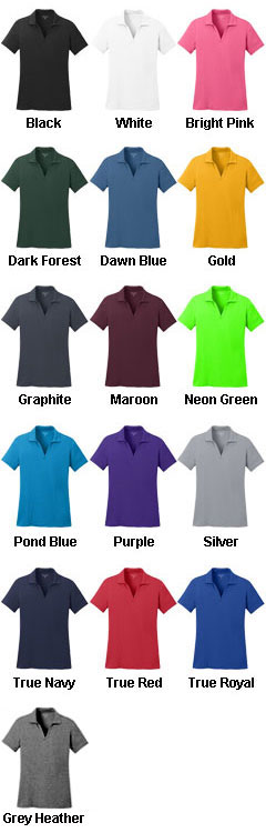 Ladies Posicharge™ Racermesh™ Polo - All Colors