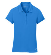 Custom Nike Ladies Dri-FIT Solid Icon Pique Polo