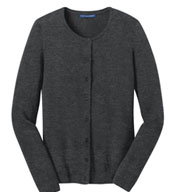 Custom Port Authority® Ladies Cardigan Sweater