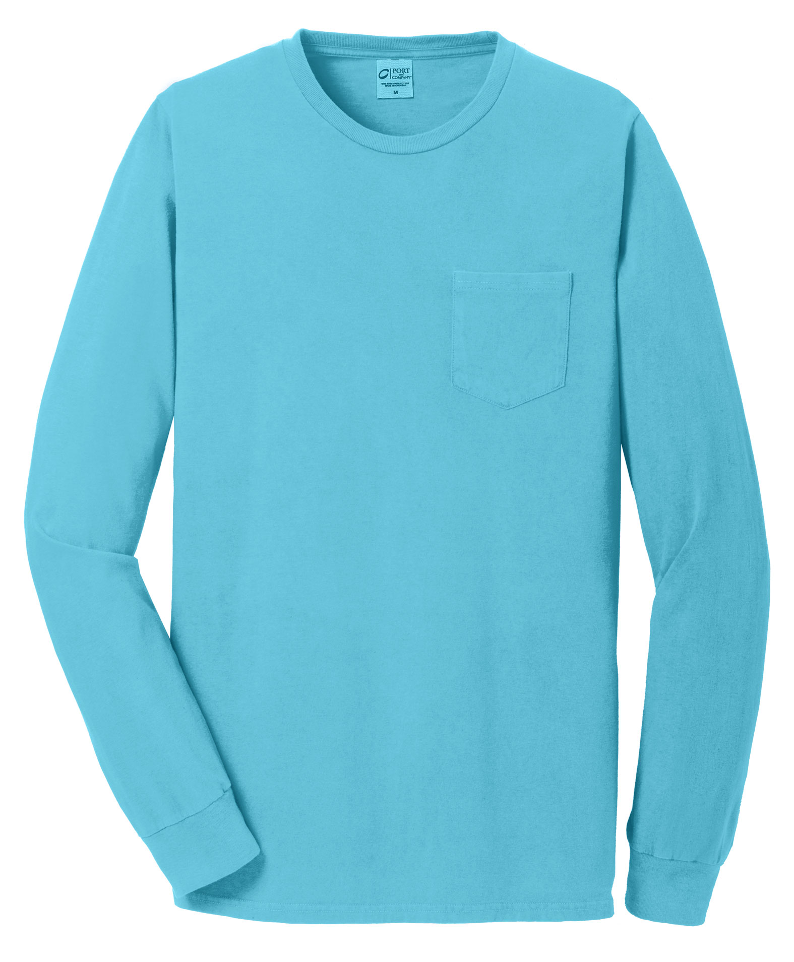 Essential Pigment-Dyed Long Sleeve Pocket Tee