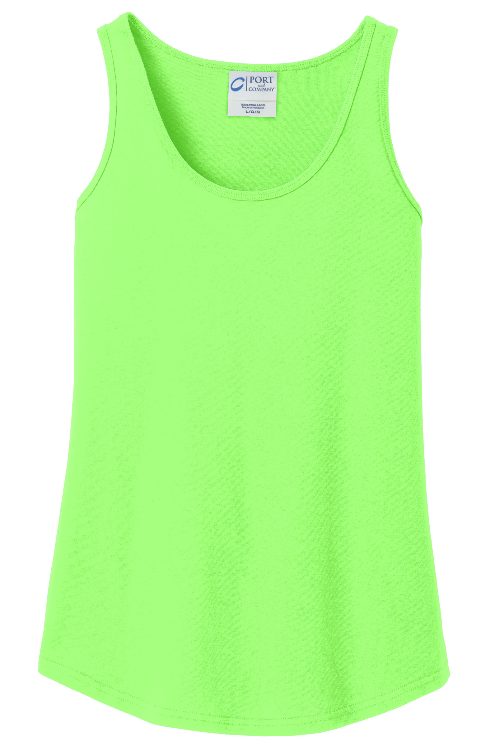 Port & Company® Ladies Core Cotton Tank Top
