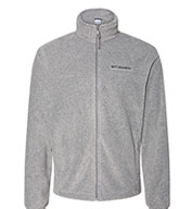Custom Columbia Mens  Full-Zip Steens Mountain 2.0 Fleece Jacket