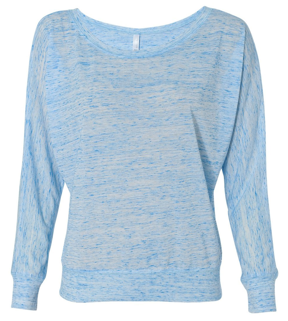 Bella Flowy Long Sleeve Off Shoulder Tee