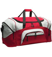 Custom Colorblock Sport Duffle