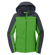 Custom Port Authority® Ladies Hooded Core Soft Shell Jacket