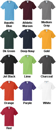 Essential Blended Performance Tee - All Colors