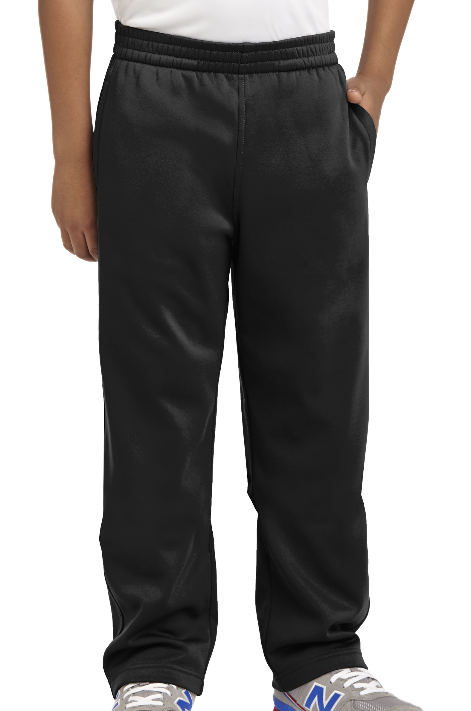 Sport-Tek® Youth Sport-Wick® Fleece Pant