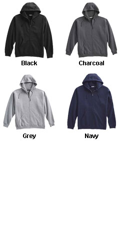 Mens Super 10 oz Full Zip Hoodie - All Colors