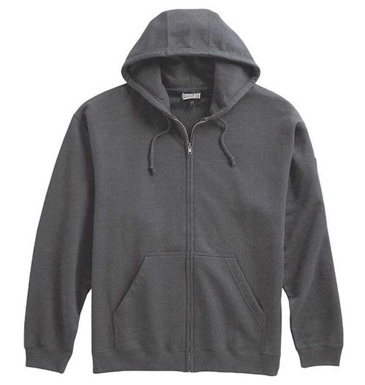 Mens Super 10 oz Full Zip Hoodie