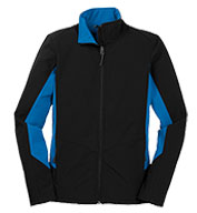 Custom Ladies Core Colorblock Soft Shell Jacket