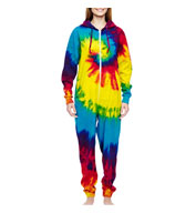 Adult Tie Dye All-in-One Loungewear