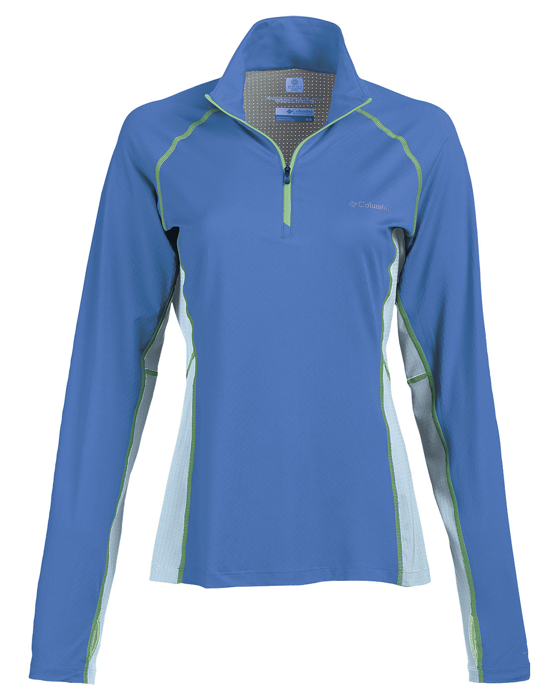 Columbia Womens Freeze Degree™III Half-Zip Color Block Long-Sleeve
