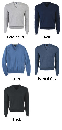 Brooks Brother  Mens Cotton V-Neck Sweater - All Colors