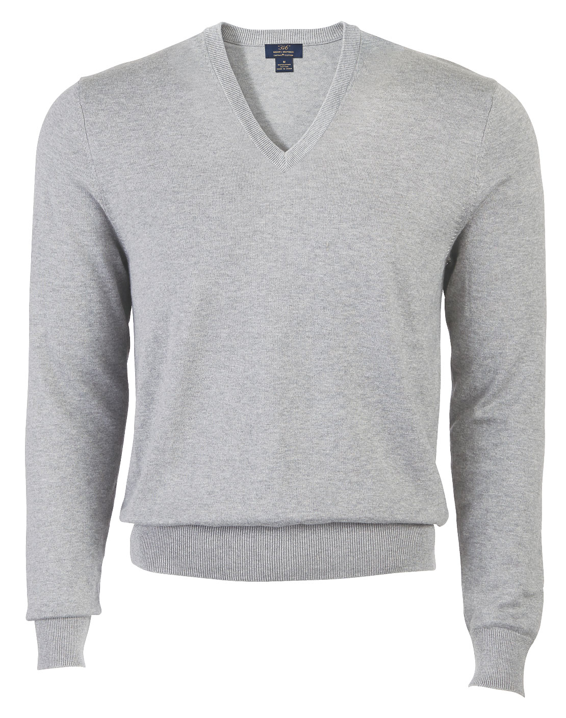 Brooks Brother  Mens Cotton V-Neck Sweater
