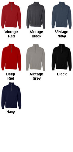 Hanes Adult Nano Fleece 1/4 Zip Sweatshirt - All Colors