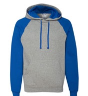 Custom JERZEES Nublend® Mens Colorblocked Hooded Sweatshirt