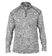 Custom Badger Mens Blend 1/4 Zip Pullover
