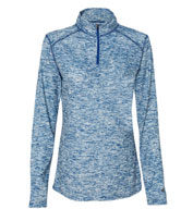 Custom Badger Ladies Blend 1/4 Zip  Pullover