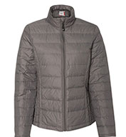 Custom Weatherproof Ladies Packable Down Jacket