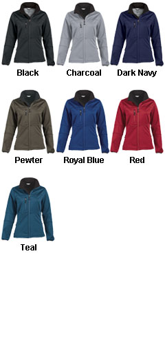 Ladies 4-Way Stretch Softshell - All Colors