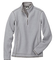 Custom Storm Creek® Ladies Waffle Knit Pullover