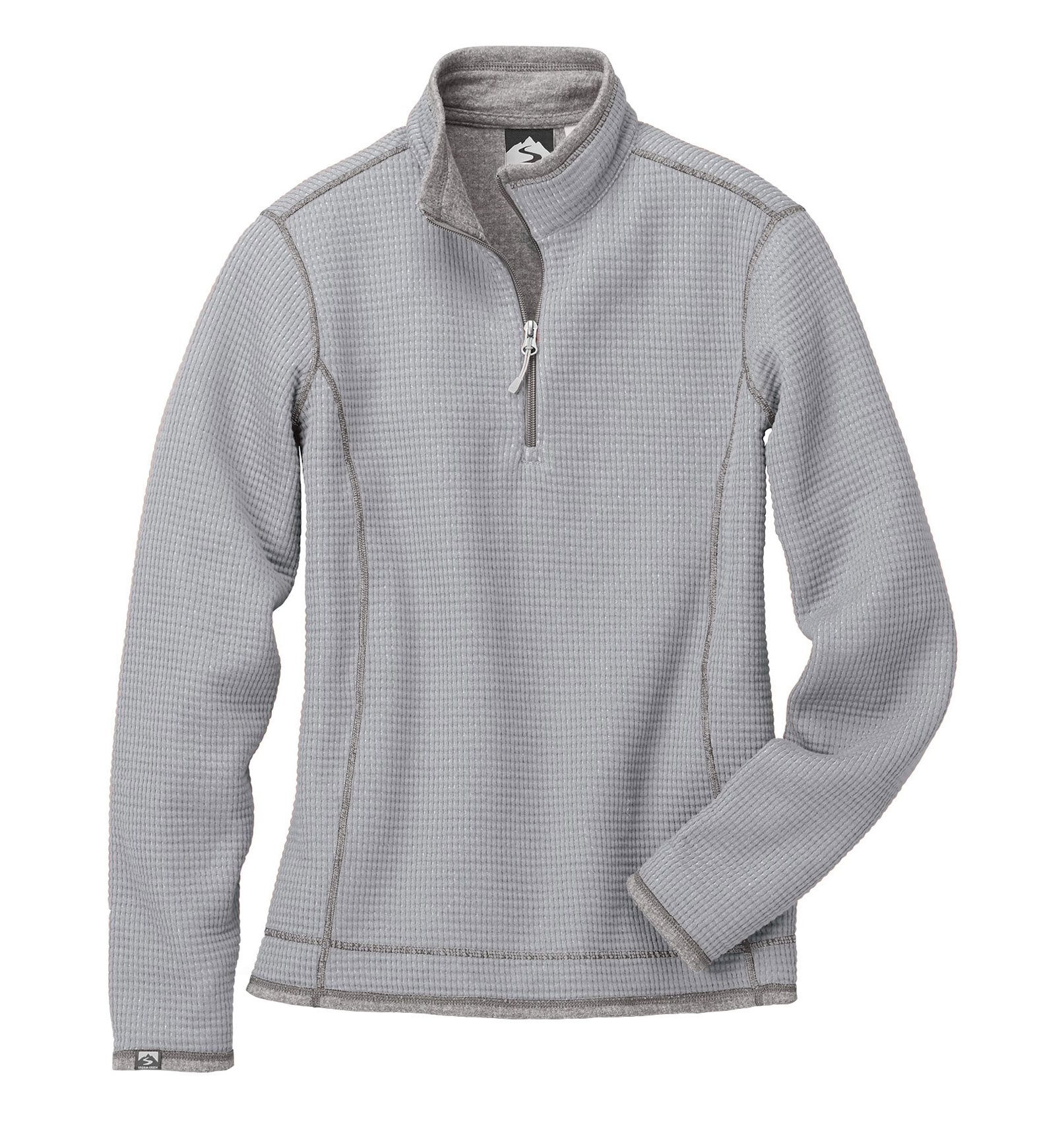 Ladies Janica Waffle Knit 1/4-Zip Pullover