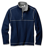 Custom Storm Creek® Mens Maverick Waffle Knit Quarter-Zip