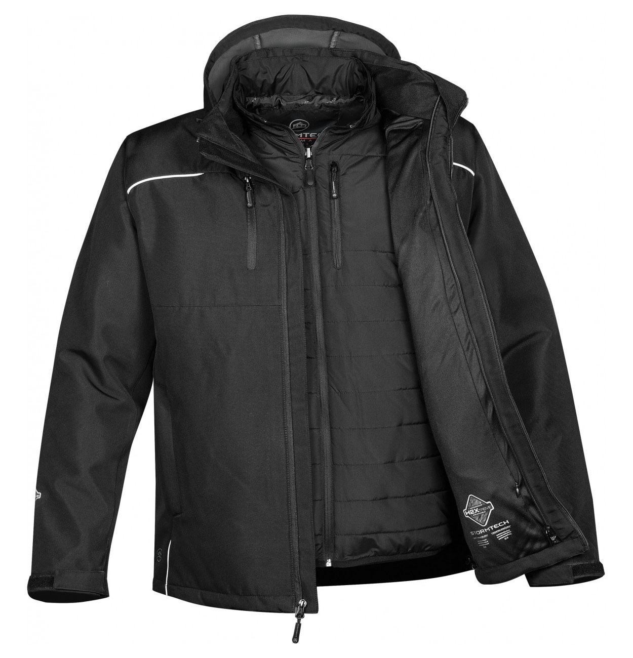 Mens Atmosphere HD 3-in-1 System Jacket