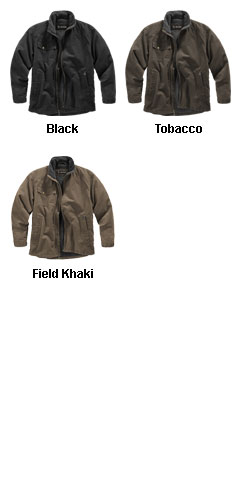 Dri Duck Endeavor Canyon Cloth Canvas Jacket with Sherpa Lining - All Colors