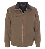 Custom Dri Duck Mens Endeavor Jacket with Sherpa Lining