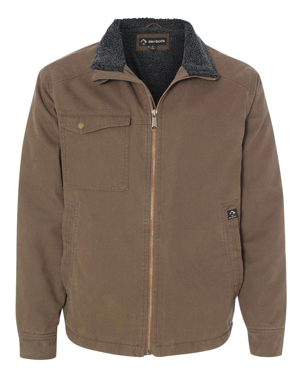Mens Dri Duck Endeavor Jacket with Sherpa Lining