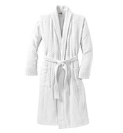 Custom Port Authority® Adult Checkered Terry Shawl Collar Robe