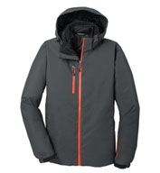 Custom Port Authority Mens Vortex Waterproof 3-in-1 Jacket