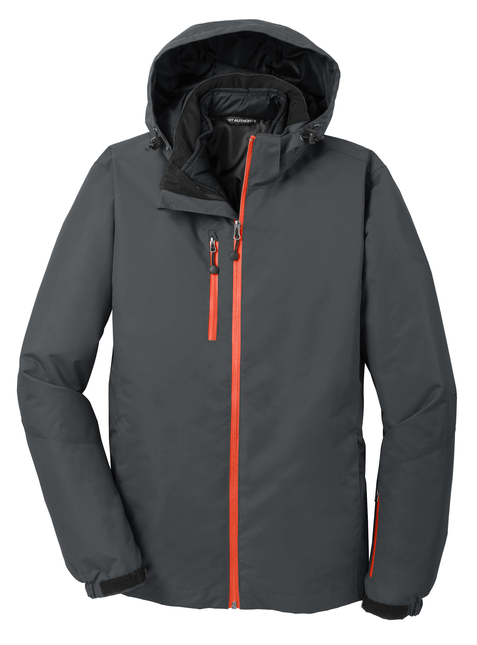 Port Authority Mens Vortex Waterproof 3-in-1 Jacket