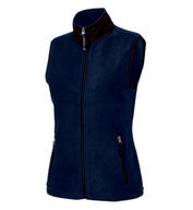 Custom Womens Ridgeline Fleece Vest by Charles River